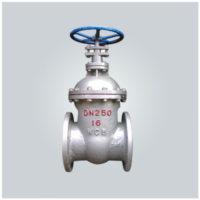 Non-Rising Stem Wedge Sluice Valve