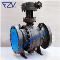2 Pieces Trunnion-Mounted Ball Valve (LCC extended bonnet)